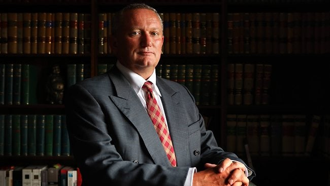 Controversial sports scientist Stephen Dank. Picture: James Croucher.