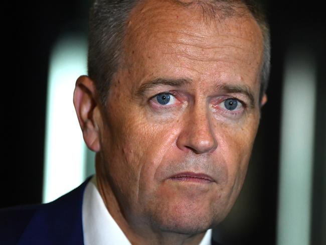 Bill Shorten (pictured) has narrowed the gap against Malcolm Turnbull as preferred prime minister. Picture: AAP Image/Mick Tsikas