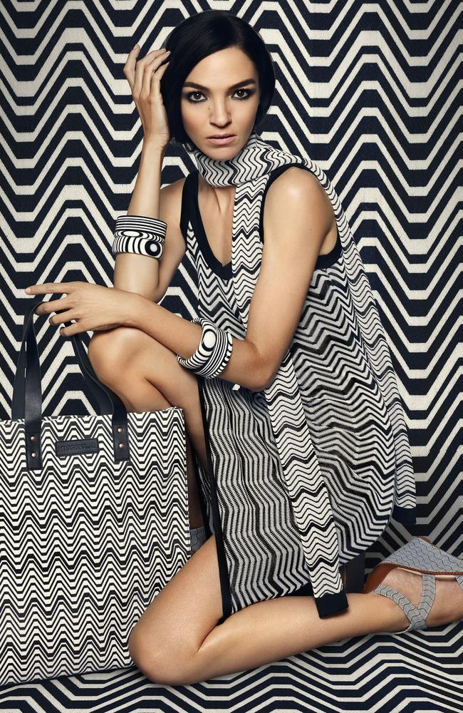Campaign images from Target's newest designer collaboration with leading fashion brand Missoni. Picture supplied.