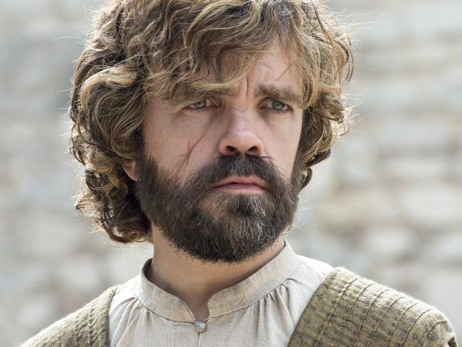 A sober look from Tyrion. Which is impressive, becuase he isn't often sober these days. Picture: HBO