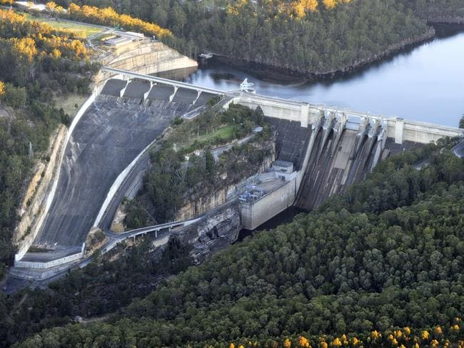 As much as 25mm of rain could fall on Warragamba Dam tomorrow.