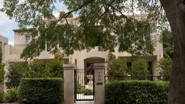 Kevin Rudd's Canberra home is on the market for $2.25 million. Supplied.
