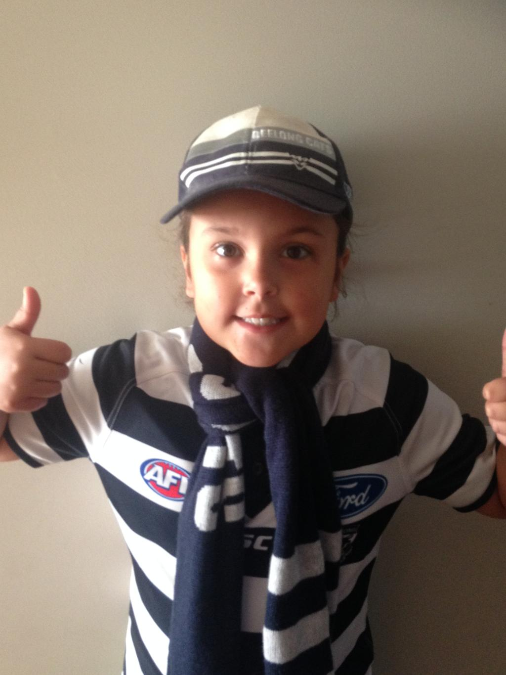 We are Geelong. Picture: Heidi Shaw