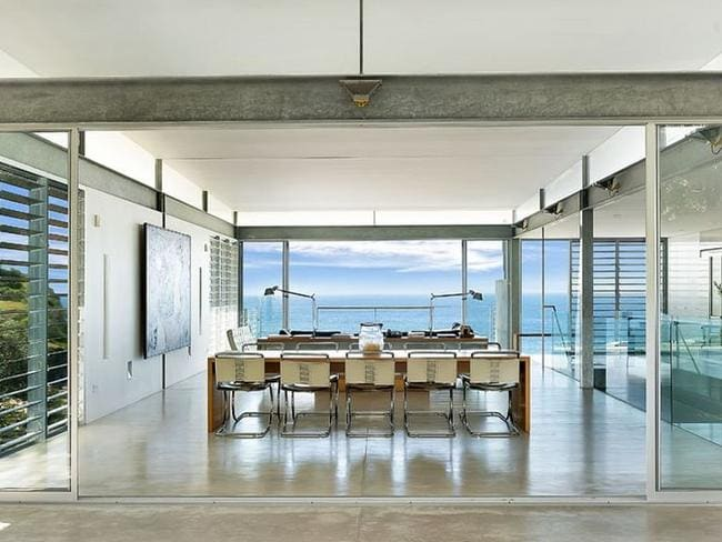 Room with a view: The Archer house in Whale Beach, NSW. Picture: realestate.com.au