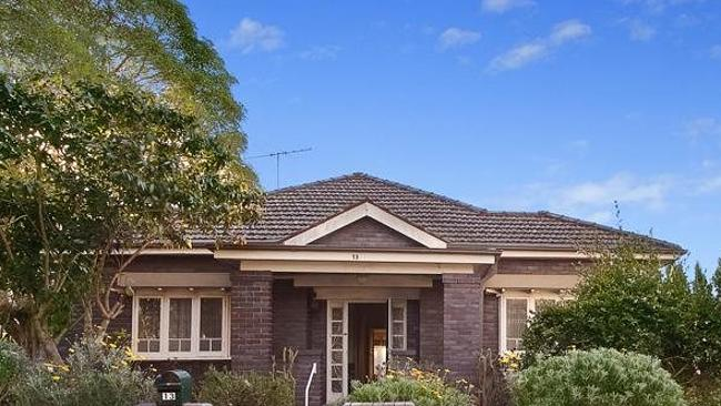 The home in Croydon in Sydney sold for $1 million above reserve.