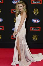 Nadia Bartell on the Brownlow Medal Red Carpet 2015. Picture: Stephen Harman