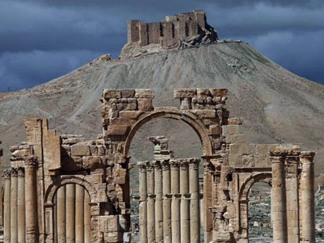 The beautiful, ancient city of Palmyra fell to IS in May.