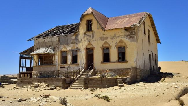 Kolmanskop Namibia Ghost Town Is One Of The Most Unique
