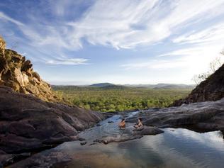 ESCAPE: Andrea Hamblin, Crocodile Dundee, Kakadu. Picture: Supplied