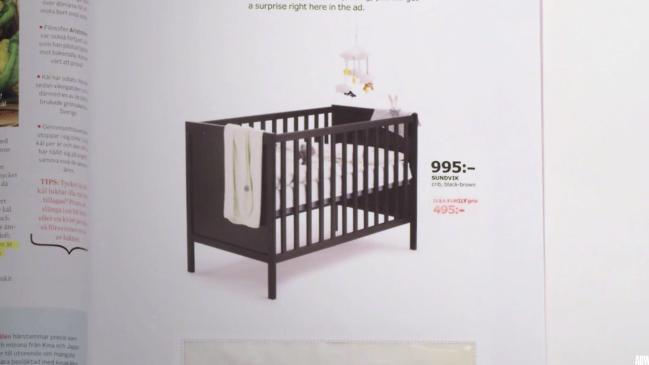 Image result for ikea ad pregnancy test