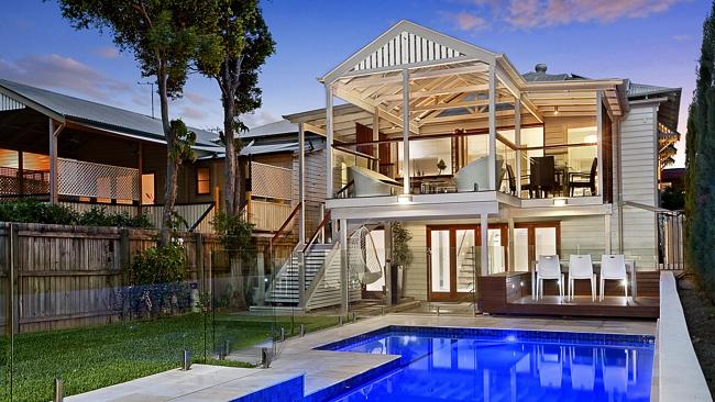 FOUR bidders were vying for this home at 98 Beatrice Tce, Ascot.