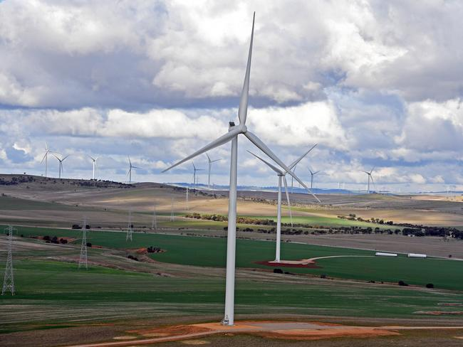All but one or two of Australia's coal-fired power stations would be closed in favour of renewable energy sources under the plan. Picture: Tom Huntley