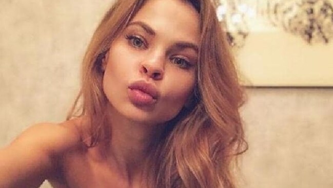 The Russian model claims she'll be in danger if she returns to her country.