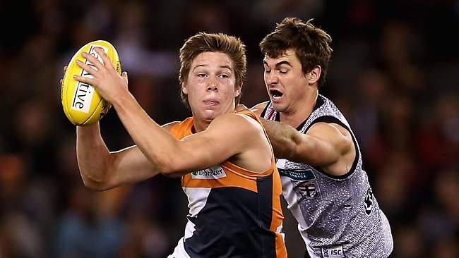 GWS midfielder Toby Greene is ineligible for the Rising Star award despite his outstanding debut season.