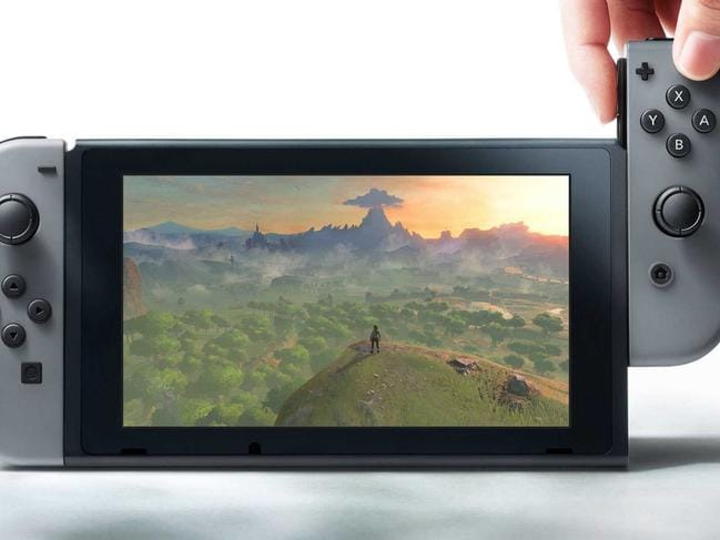 Nintendo's Switch game console, available on March 3, lets users play on the go or with the console connected to a TV.