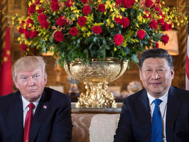 Donald Trump, Xi Jinping and other world leaders would also have to cope with the fallout of mass migration and a change in relations with a new, unified Korea. Picture: Jim Watson/AFP