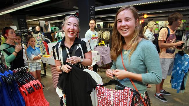 Myer Boxing Day sales sent shoppers in to a frenzy all over Australia, including Hobart.