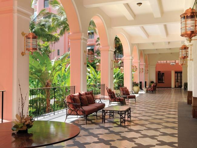 The 1927 Royal Hawaiian has undergone a stunning renovation.