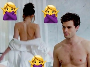 Even Mr Grey, we're guessing, isn't into this. Photo: Supplied
