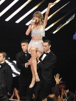Taylor Swift performs at the MTV Video Music Awards at The Forum on Sunday, Aug. 24, 2014, in Inglewood, California. Picture: AAP