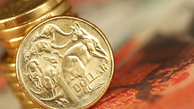 Australian one dollar coin. Picture: istock