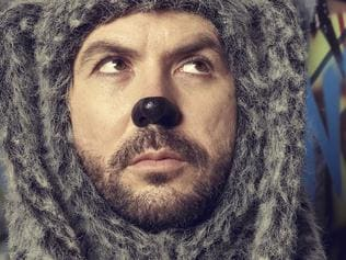 WILFRED: Jason Gann as Wilfred. Eleven, 2012. For Switched On only until July 30, 2012