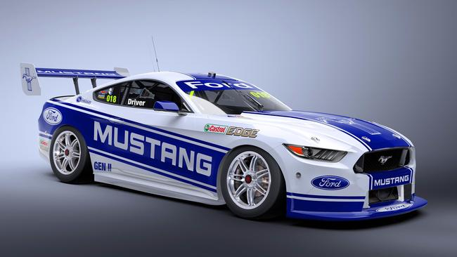 Mark Winterbottom Confirms Mustangs For Ford In Supercars Daily