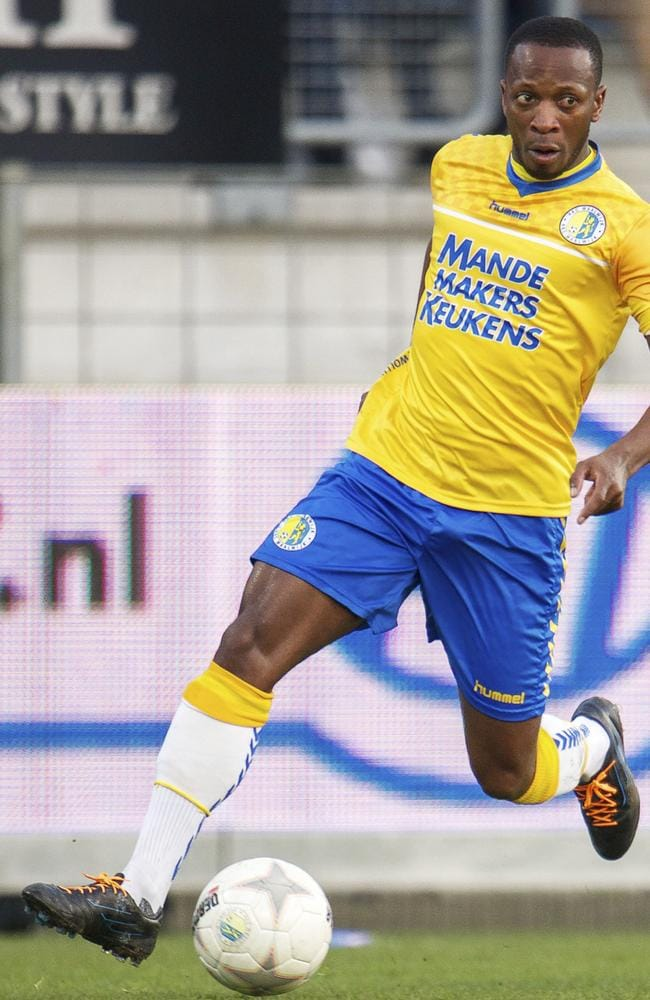 Romeo Castelen of RKC Waalwijk during a Dutch Eredivisie match.