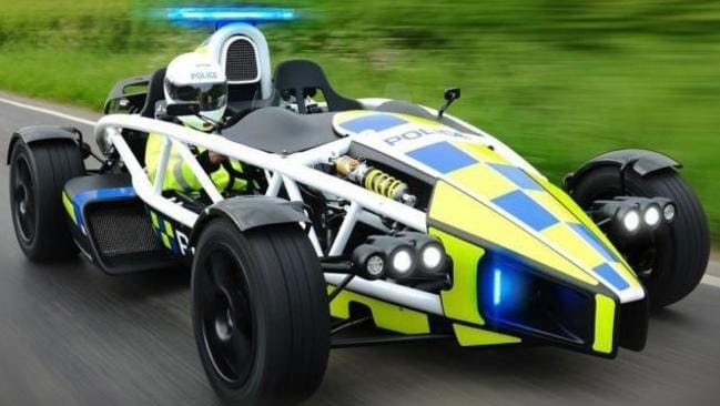 You won't be able to outrun this if you're speeding.