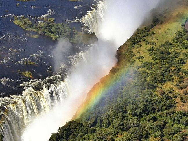 Victoria Falls is a sight to behold — but be careful. Picture: iStock