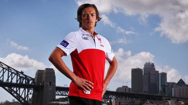 New Sydney Swans recruit Oliver Florent. Picture: Sam Ruttyn