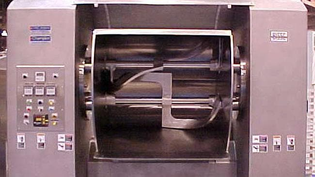 Strange death ... The 26 year old man was found inside a dough making machine similar to