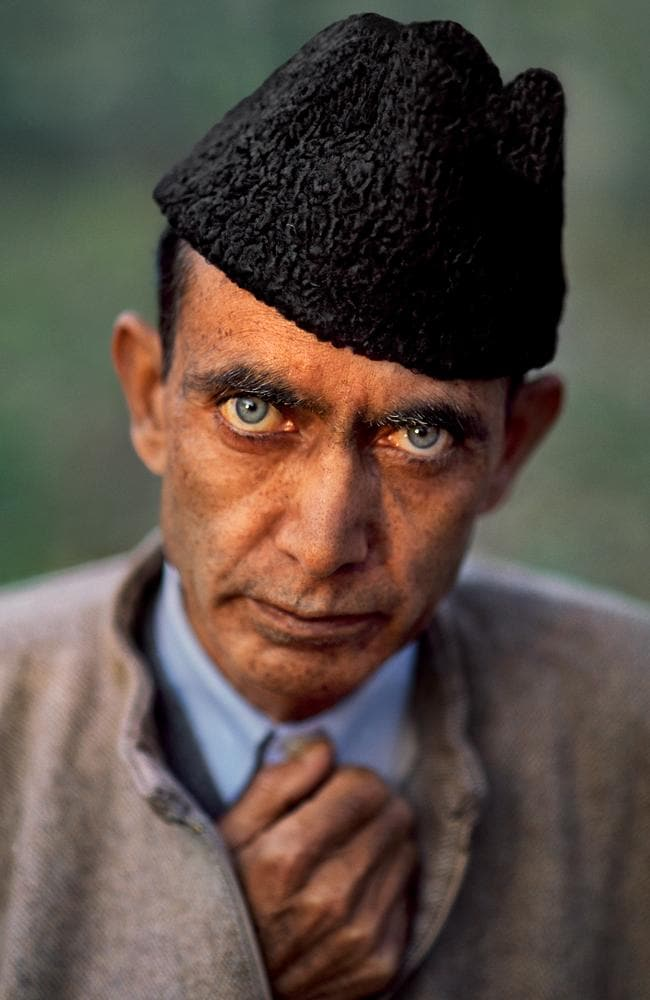 Steve McCurry India exhibition - Portrait of engineer Maqbool Andrabi, Srinagar, Kashmir Steve McCurry, 1999. Picture: Steve McCurry