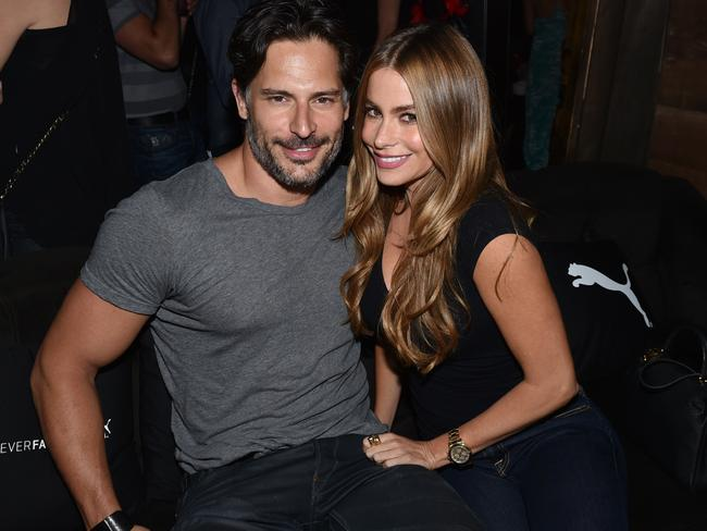 Dating ... Joe Manganiello, left, and Sofia Vergara.