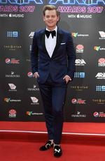 Joel Creasey arrives on the red carpet for the 31st Annual ARIA Awards 2017 at The Star on November 28, 2017 in Sydney, Australia. Picture: AAP