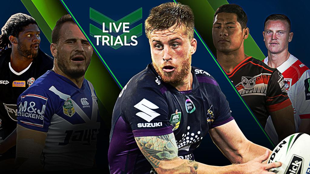 Nrl Trial Matches Live Blog