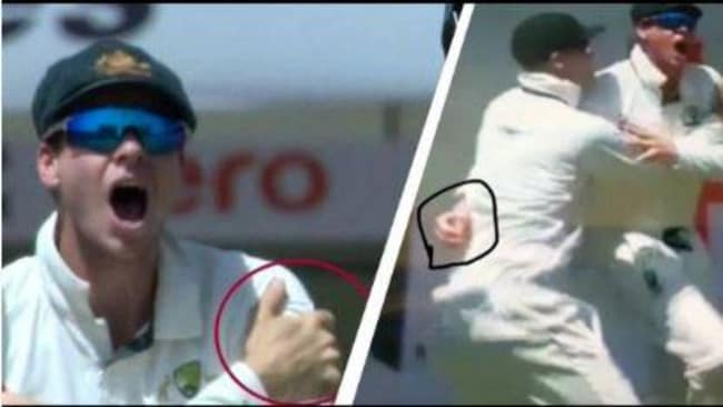 Kohli and India accused Smith of disrespect over the captain's shoulder injury but replays proved there was no substance to the claims.