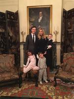"Ivanka Trump shares an Instagram image on January 24, 2017, ""Blair House, DC #latergram"" Picture: Instagram"