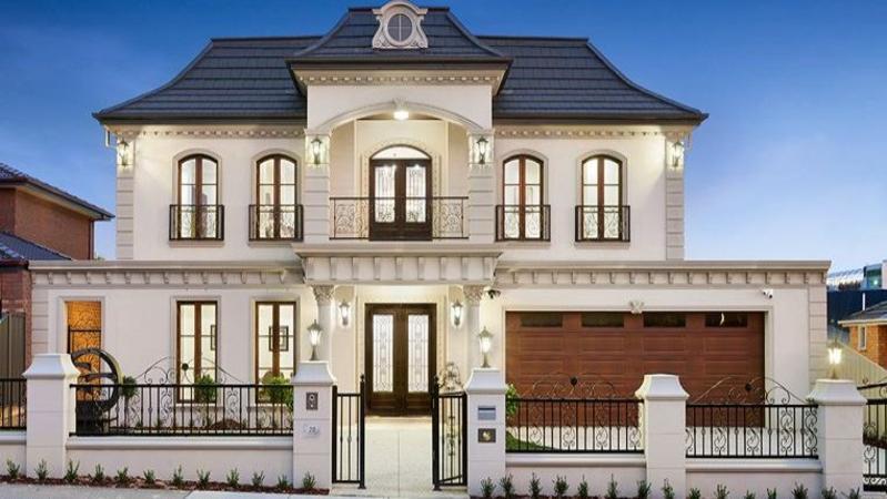 French provincial houses in glen waverley break monash for French provincial home designs australia