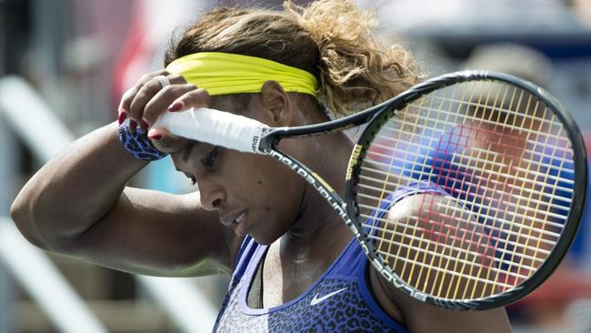 Serena Williams was beaten by her sister Venus for the first time since 2009.