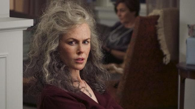 Nicole Kidman in character for Top of The Lake. Picture: Sally Bongers