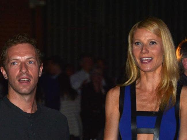 Consciously uncoupled ... Chris Martin and Gwyneth Paltrow.