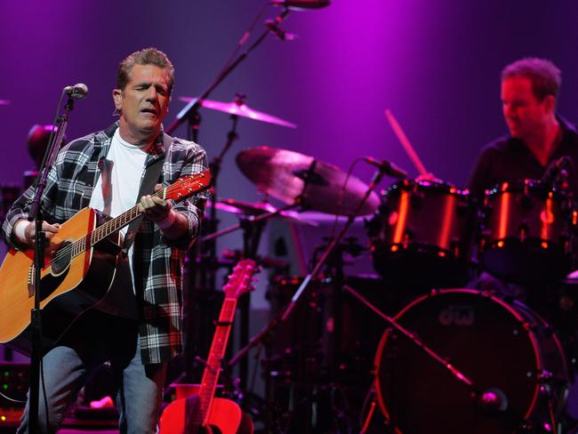 The Eagles perform at the Sydney Entertainment Centre in 2013.