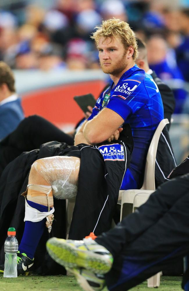 Aiden Tolman injured.