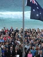 North Bondi RSL ANZAC dawn service. Picture: Phil Blatch