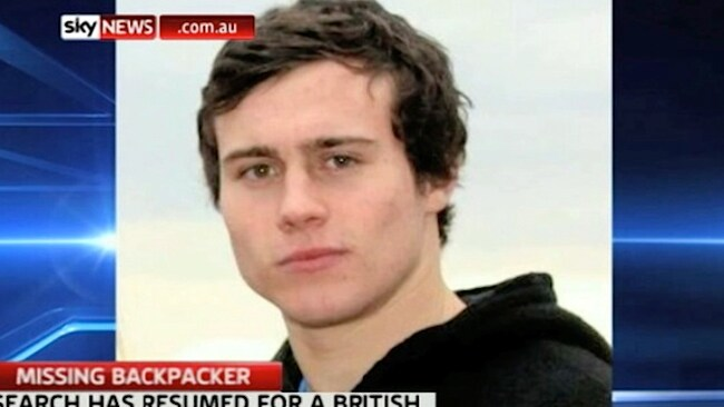 Missing UK teenager Sam Woodhead. Picture: Sky News.