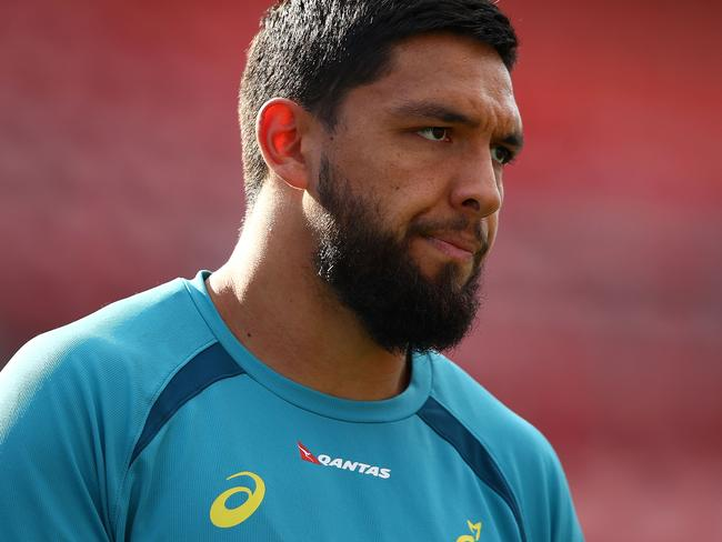 Wallaby Curtis Rona faces a testing introduction to international rugby union.