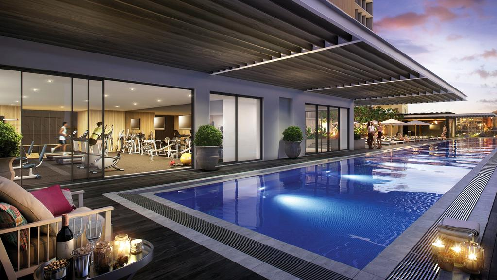 New brisbane hotel the johnson is city s first art hotel for Pool home show brisbane