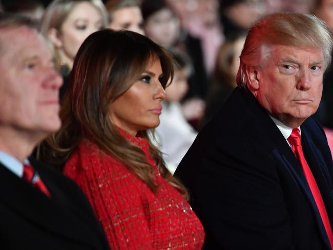 Mrs Trump didn't move into the White House until five months into her husband's presidency. Picture: Nicholas Kamm/AFP
