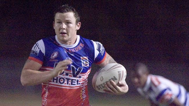 Todd Carney spent a year in Atherton after being banned by the NRL.